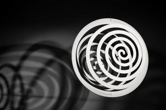 """Andrzej Jakub Olejniczak, """"Black and white reason for the reaction – thinking about Archimedes"""", 2011 (źródło: materiały prasowe organizatora)"""