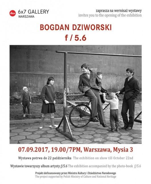 """Bogdan Dziworski """"f/5.6""""  (źródło: materiały prasowe organizatora)"""