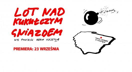 """Dale Wasserman, """"Lot nad kukułczym gniazdem"""", wg Kena Keseya, reż. Igor Gorzkowski (źródło: materiały prasowe teatru)"""