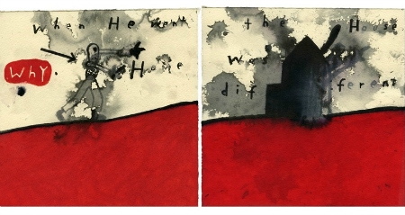 """When He Went Home The House Was Different"", 2013, Copyright: David Lynch (źródło: materiały prasowe)"