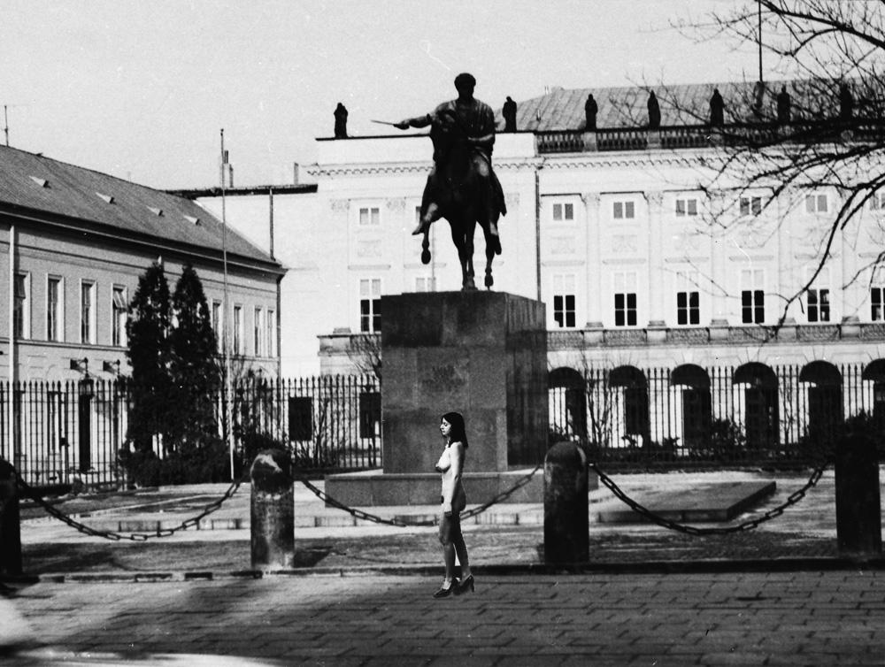 """Ewa Partum, """"Samoidentyfikacja"""", fot. Kolekcja Madelskich (źródło: materiały prasowe organizatora)"""