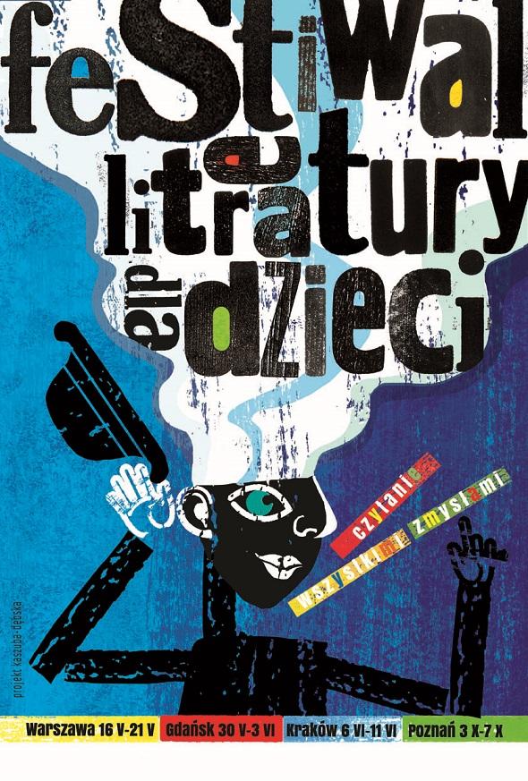 Festiwal literatury dla dzieci 2017 w Poznaniu (źródło: materiały prasowe organizatora)