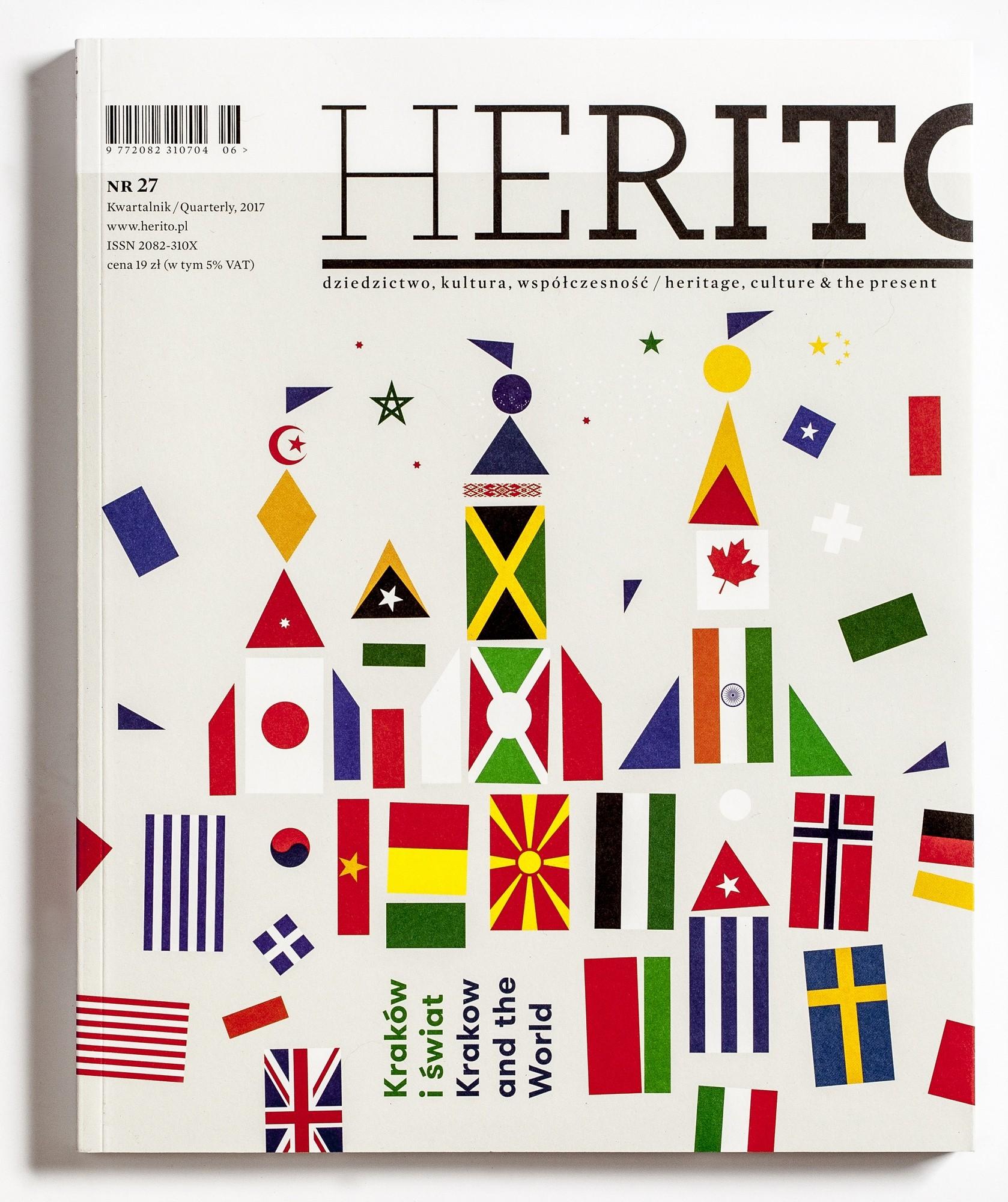 """""""Herito"""", nr 27/2017 – okładka (źródło: materiały prasowe wydawcy)"""