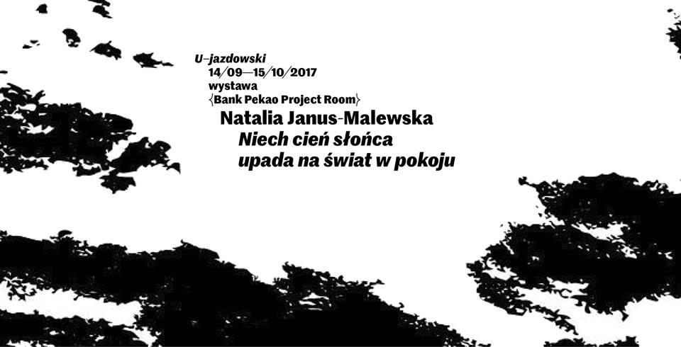 """Natalia Janus-Malewska """"Niech cień słońca upada na świat w pokoju"""" (źródło: materiały prasowe organizatora)"""