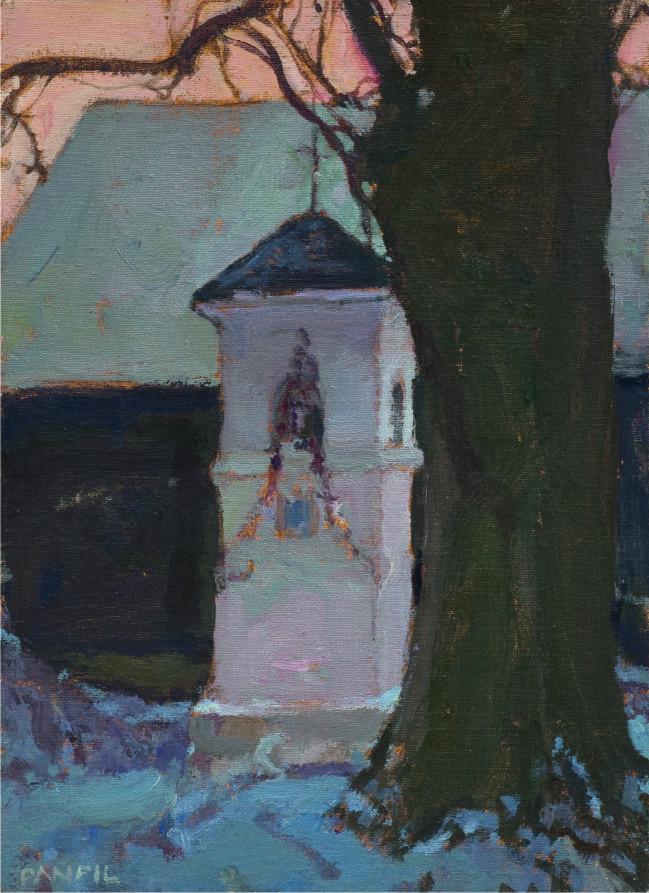 """Józef Panfil, """"Motyw z Nagórzyc"""", 2006 (źródło: materiały prasowe organizatora)"""