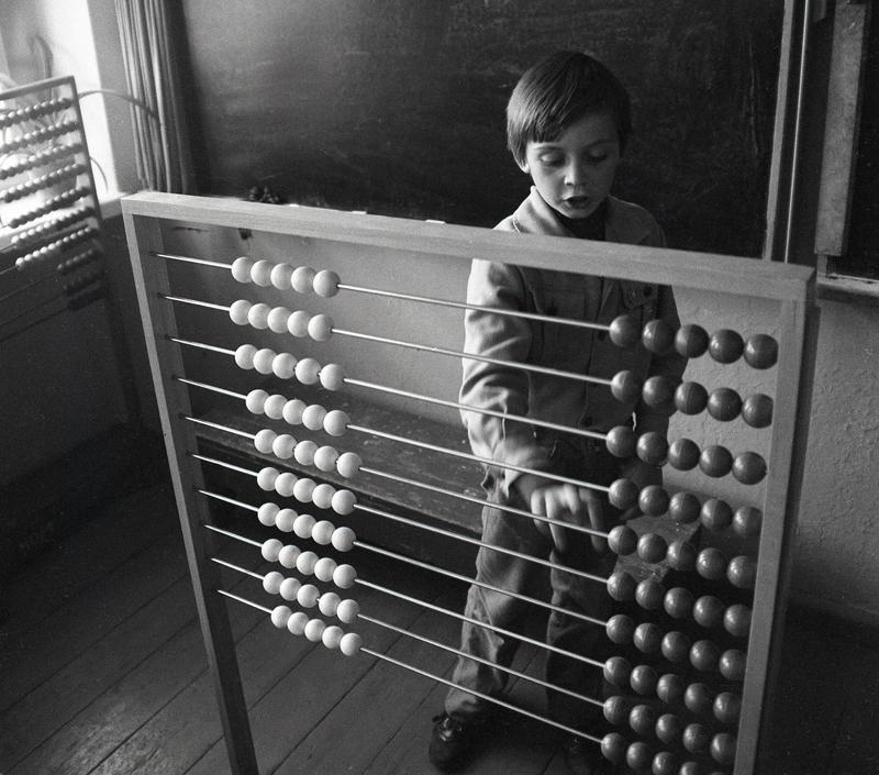 Lekcja rachunków, 1980 r., Fot. Marek Szymański (źródło: materiały prasowe organizatora)