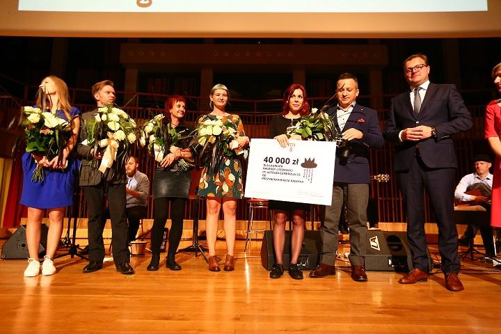 Nagroda im. Witolda Gombrowicza dla Anny Cieplak, fot. Ł. Wójcik (źródło: materiały prasowe organizatora)