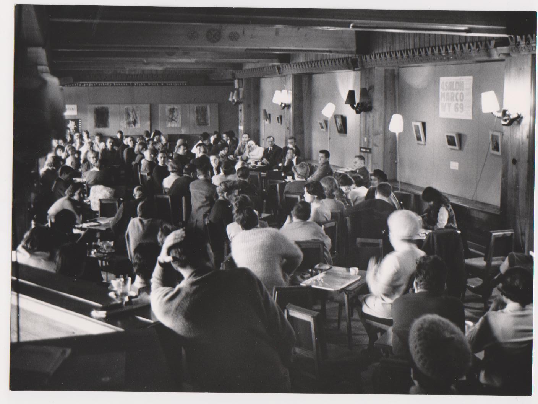 Dyskusja podczas 2. Przeglądu Filmów o Sztuce, fot. W. Werner (źródło: materiały prasowe organizatora)