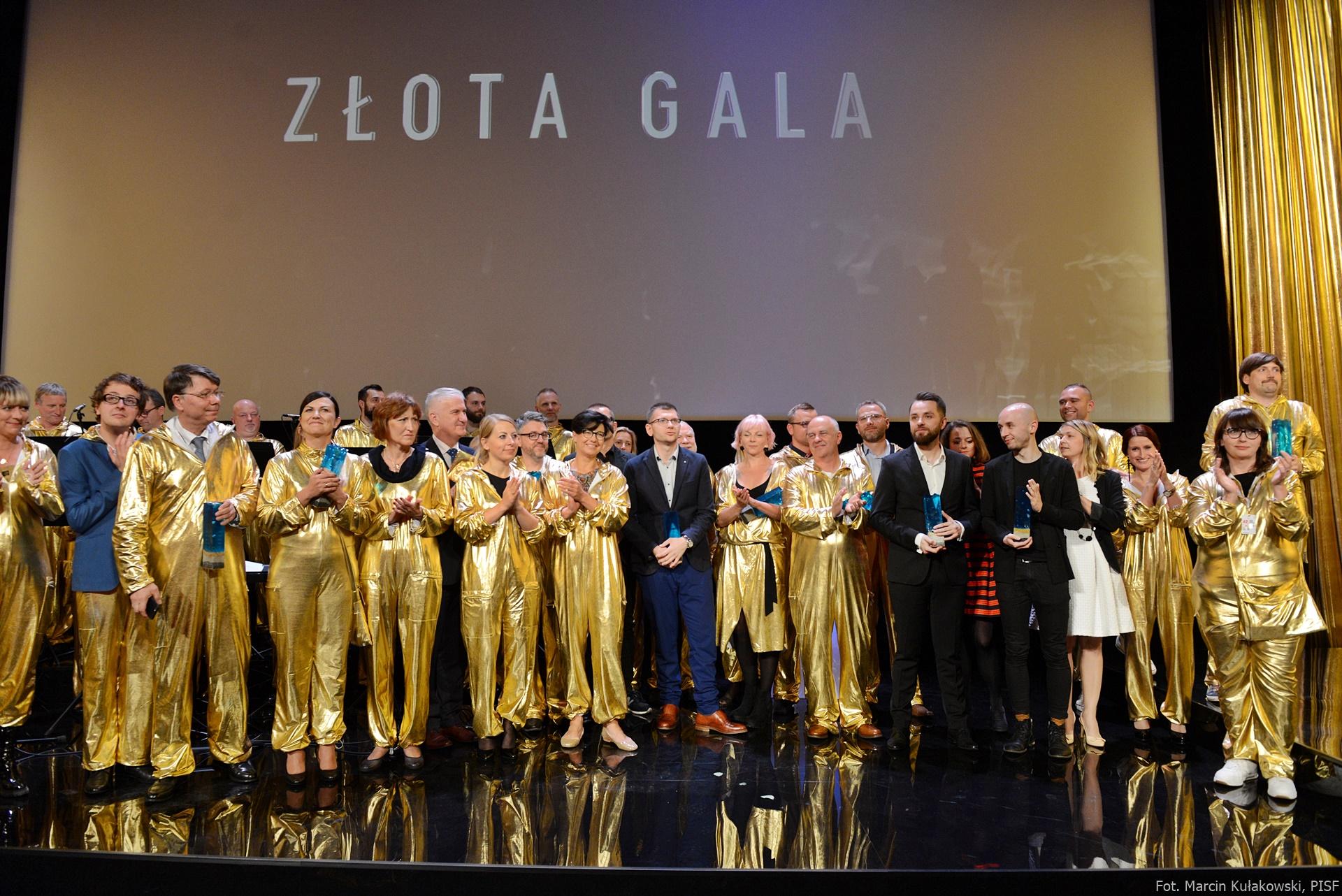 Gala wręczenia 10. Nagród PISF, fot. Marcin Kułakowski (źródło: materiały prasowe organizatora)