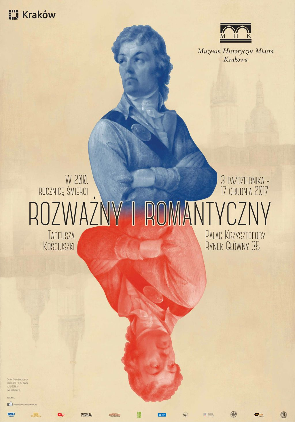 """""""Rozważny i romantyczny. W 200. rocznicę śmierci Tadeusza Kościuszki"""" (źródło: materiały prasowe organizatora)"""