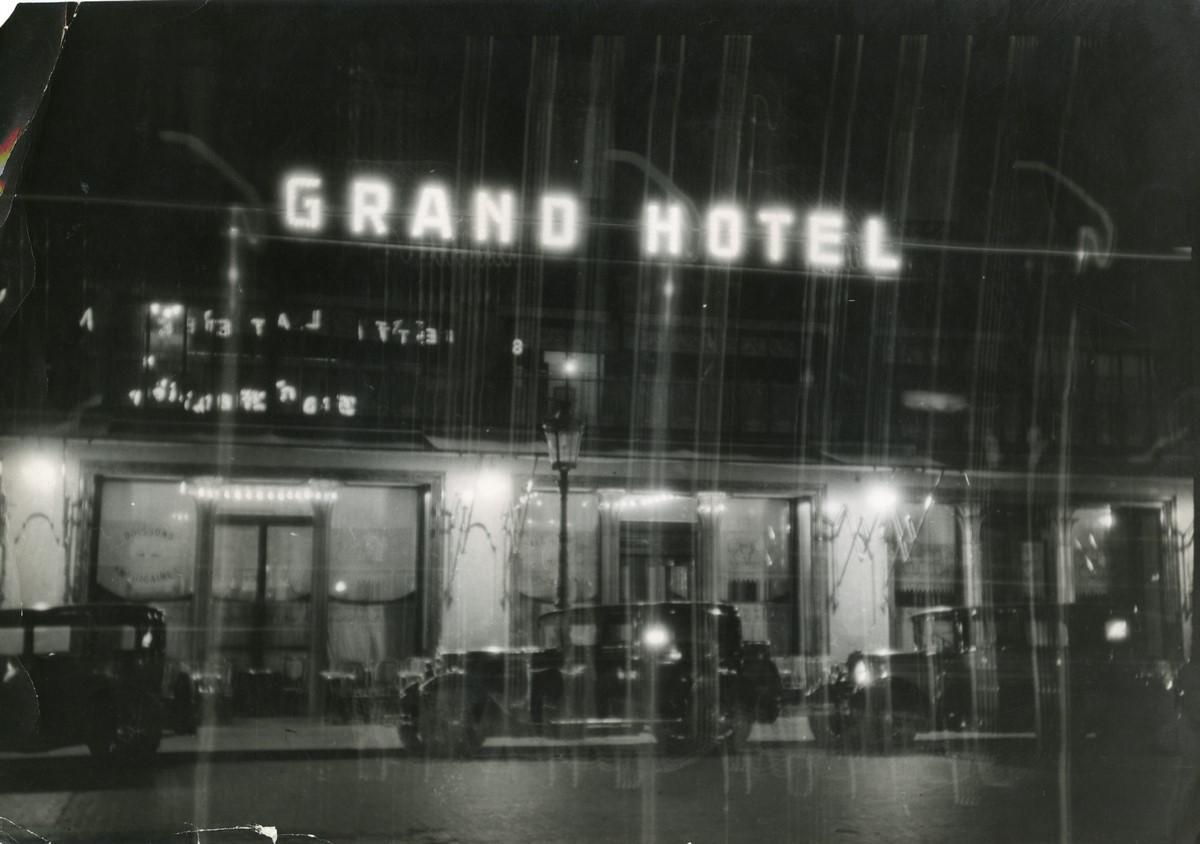 """Brzeski, Janusz Maria, """"Grand Hotel"""", ok. 1930, kolekcja: Muzeum Sztuki w Łodzi (źródło: materiały prasowe organizatora)"""