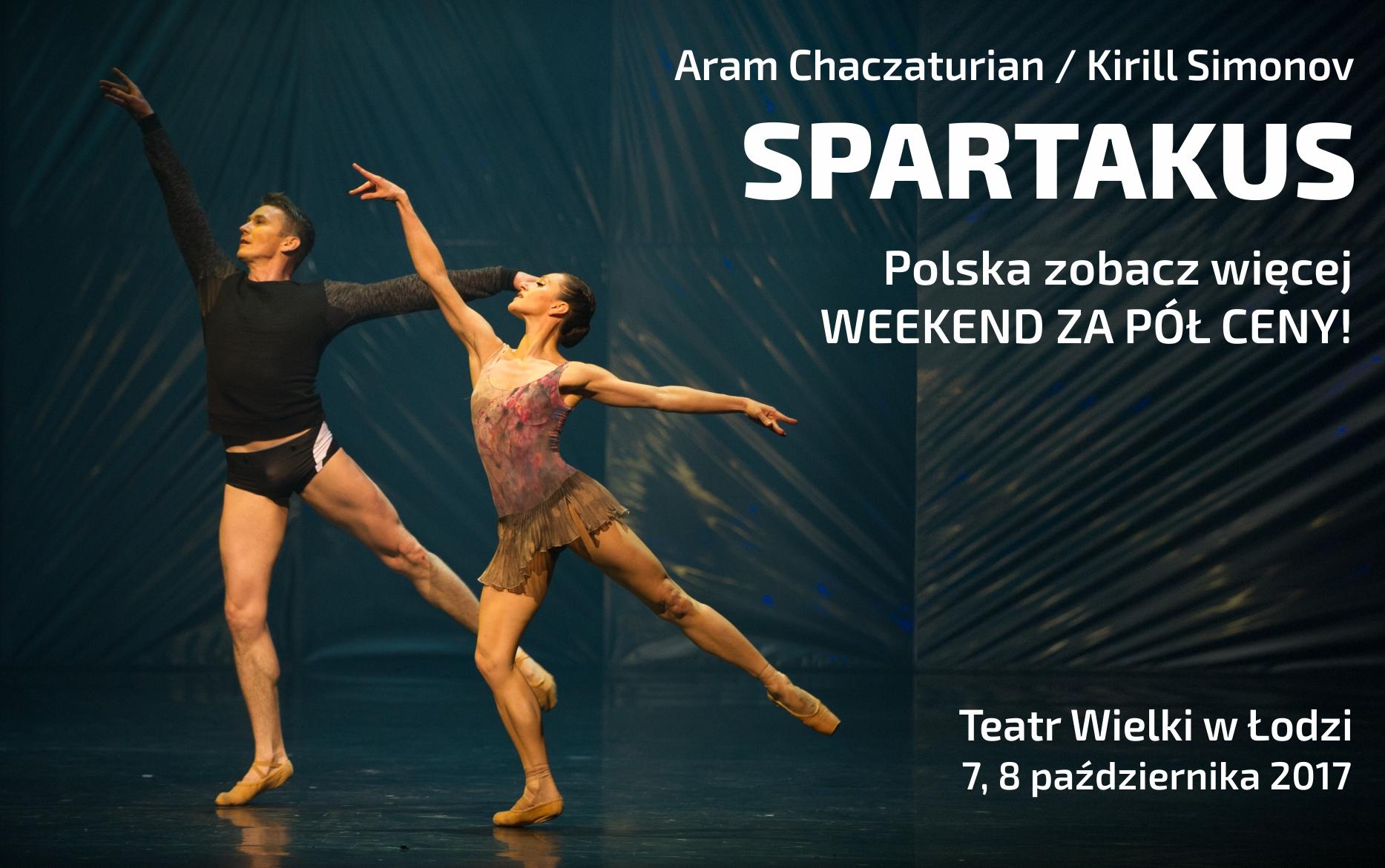 """Aram Chaczaturian, """"Spartakus"""", chor. Kirill Simonov (źródło: materiały prasowe teatru)"""