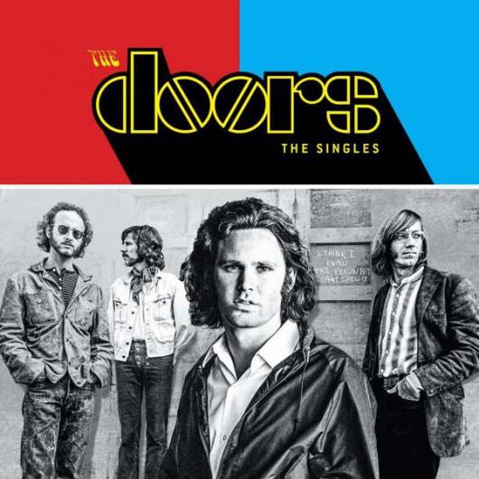 """The Doors, """"The Singles"""" (źródło: materiały prasowe wydawcy)"""