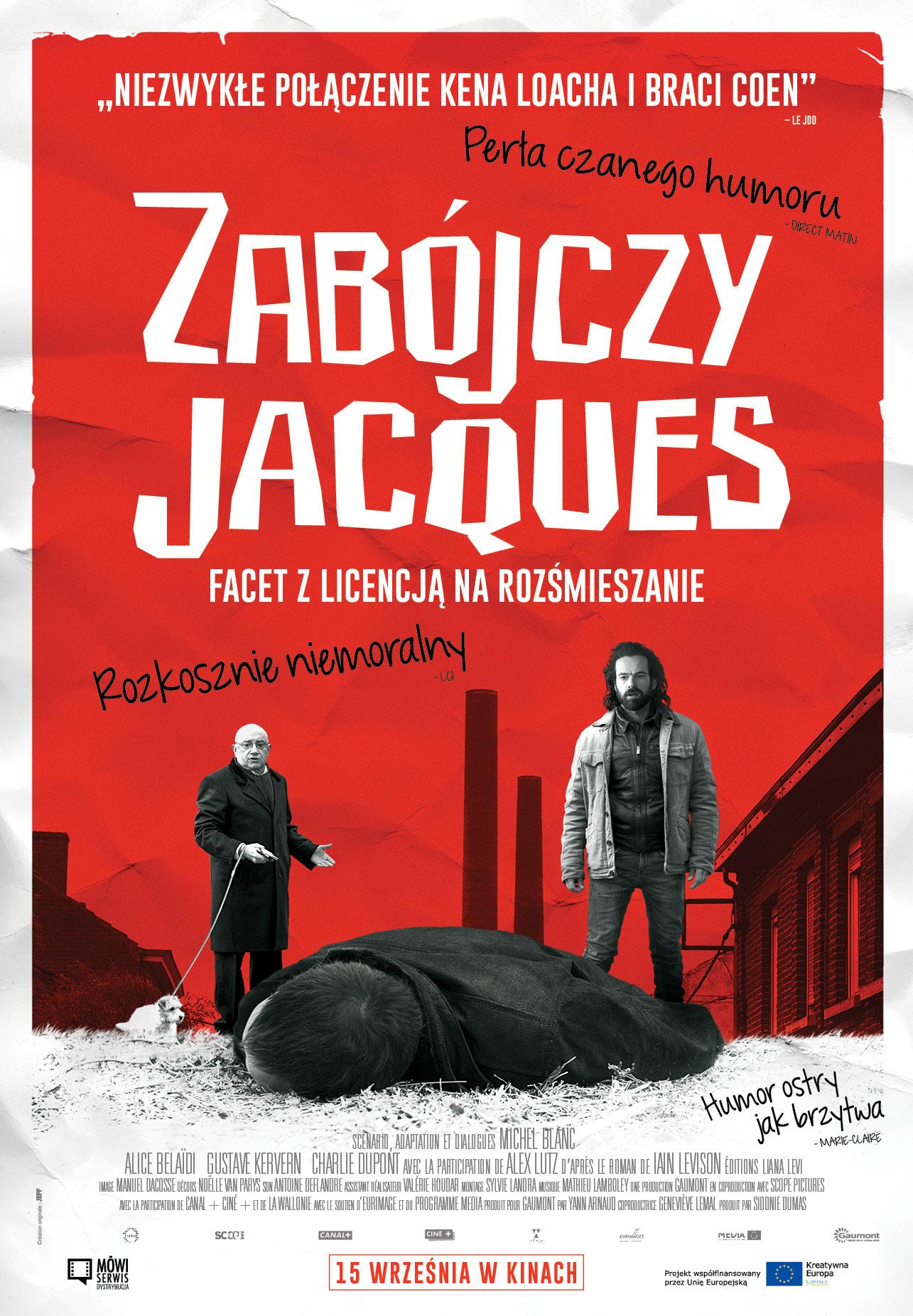 """""""Zabójczy Jacques"""", reż. Pascal Chaumeil (źródło: materiały prasowe dystrybutora)"""