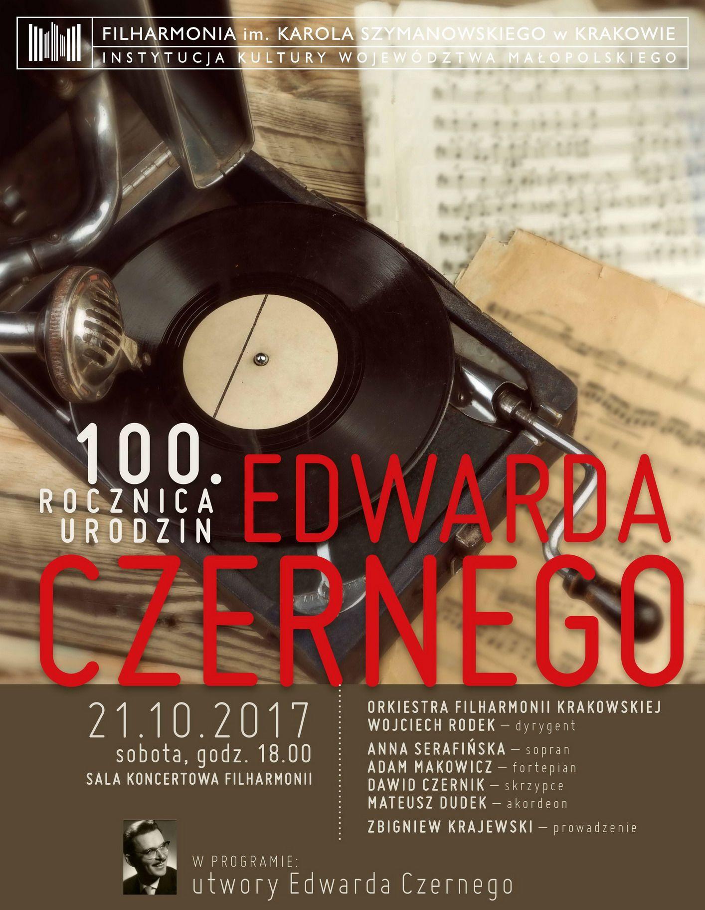 100. rocznica urodzin Edwarda Czernego (źródło: materiały prasowe organizatora)