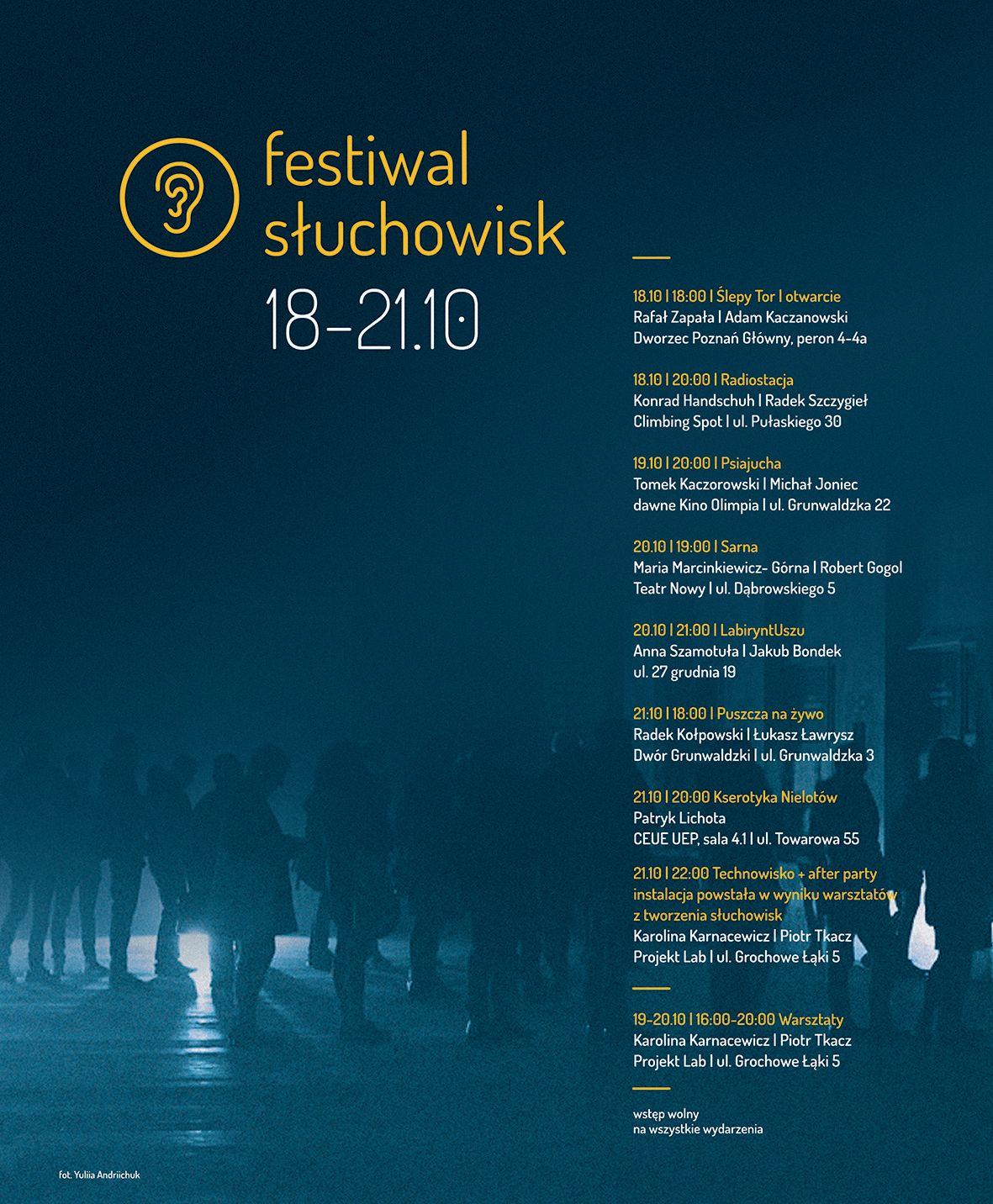 2. Festiwal Słuchowisk w Poznaniu (źródło: materiały prasowe)