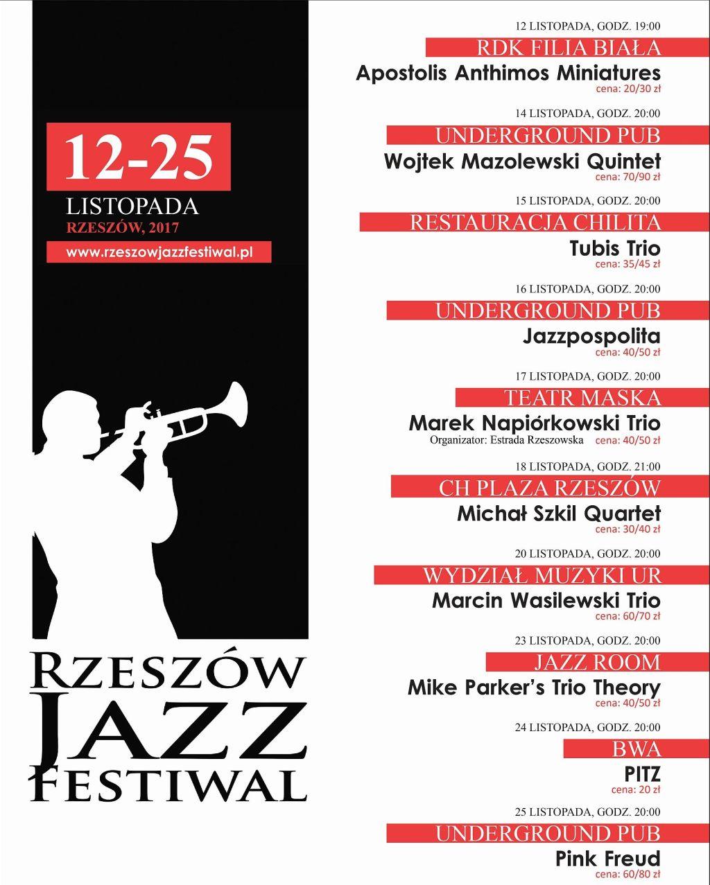 6. Rzeszów Jazz Festiwal (źródło: materiały prasowe)