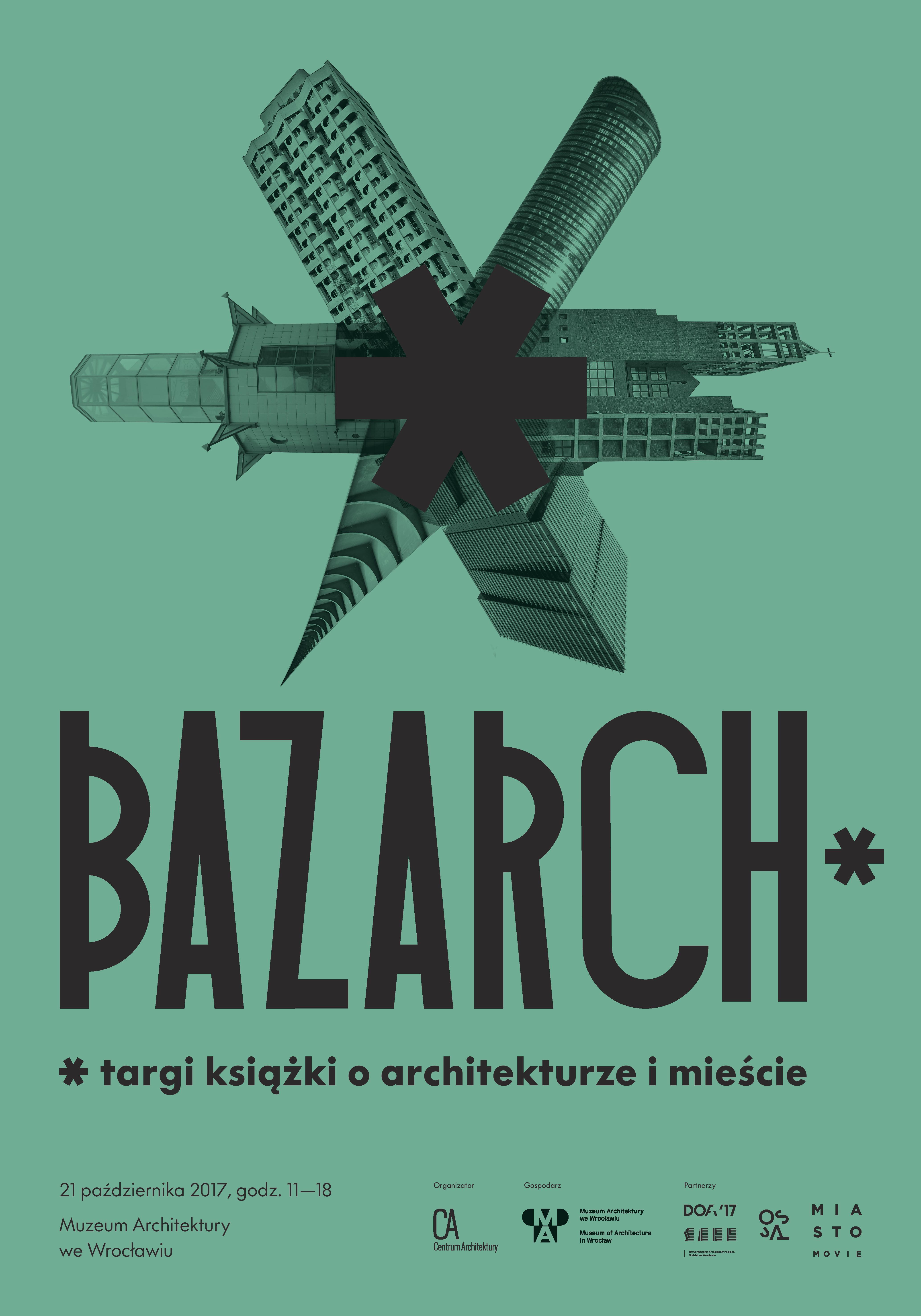 BAZARCH* – plakat (źródło: materiały prasowe organizatora)