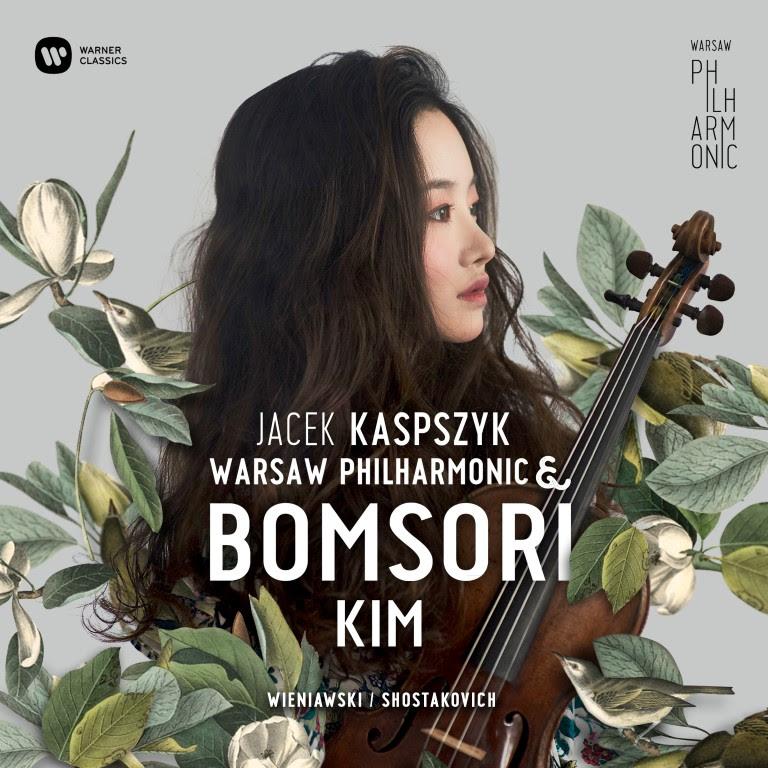"""""""Jacek Kaspszyk Warsaw Philharmonic & Bomsori Kim"""" (źródło: materiały prasowe wydawcy)"""