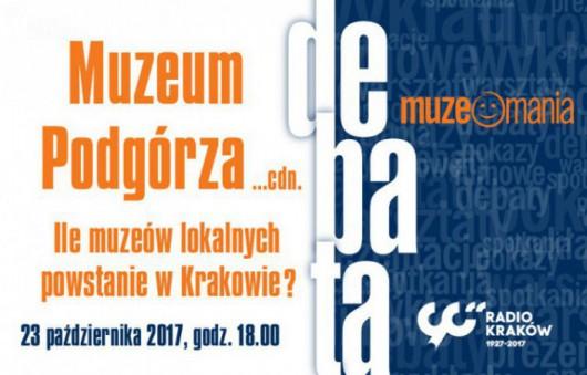 """""""Ile muzeów lokalnych powstanie w Krakowie?"""" (źródło: materiały prasowe organizatora)"""