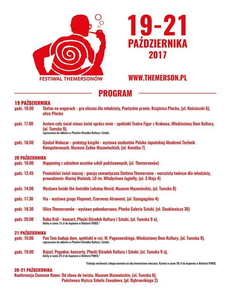 """Festiwal Themersonów """"Słowo"""" (źródło: materiały prasowe organizatora)"""