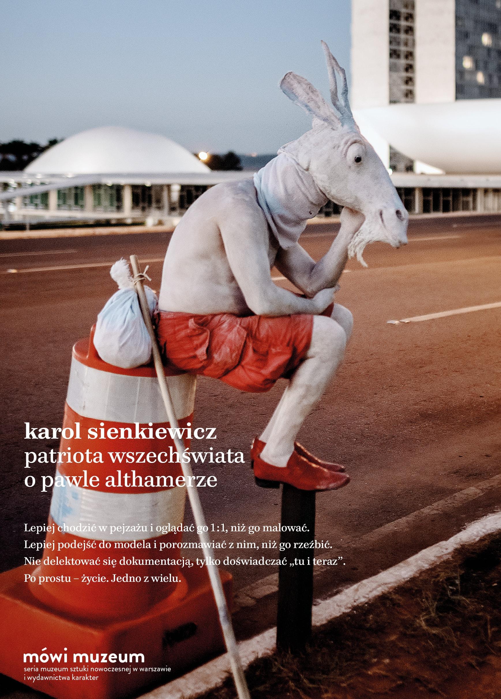 """Karol Sienkiewicz, """"Patriota Wszechświata. O Pawle Althamerze"""", Wydawnictwo Karakter (źródło: materiały prasowe wydawcy)"""