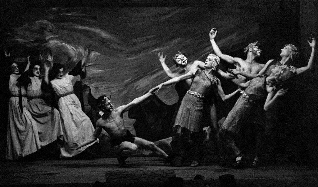 Zespół Teatru Marionetek, Oflag VII A Murnau, courtesy Muzeum Teatralne w Warszawie (źródło: materiały prasowe organizatora)