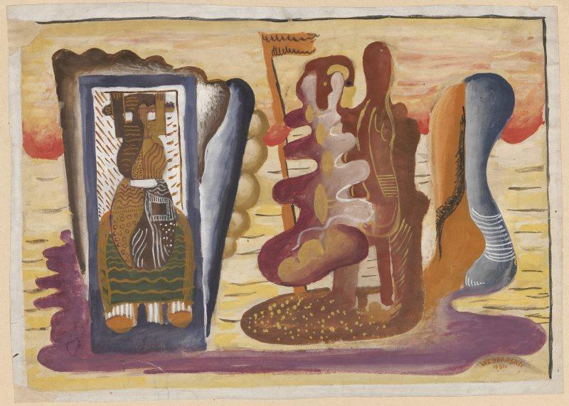 """Marek Włodarski (1903–1960), """"Płyną po niebie"""" (źródło: materiały prasowe organizatora)"""
