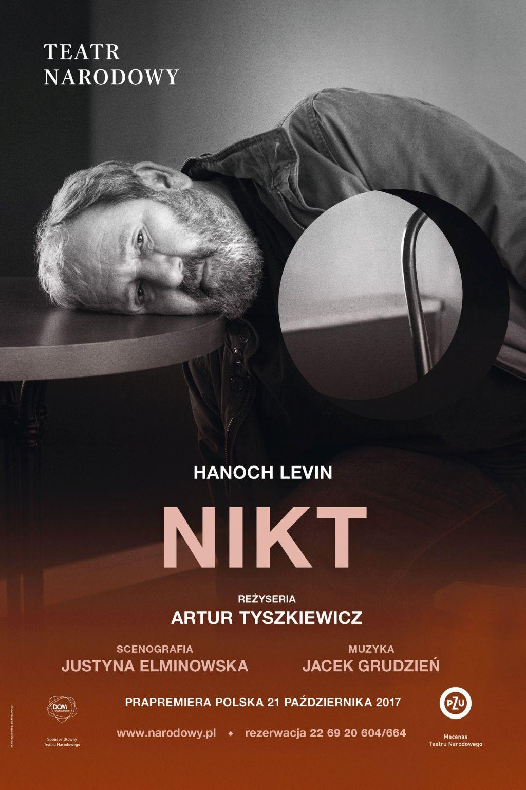 """Hanoch Levin, """"Nikt"""", reż. Artur Tyszkiewicz (źródło: materiały prasowe teatru)"""