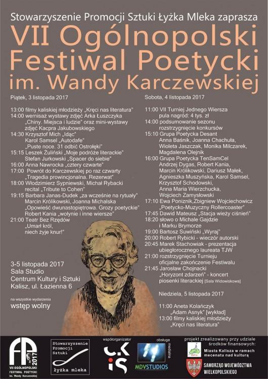 Program Festiwalu im. Wandy Karczewskiej (źródło: materiały prasowe)