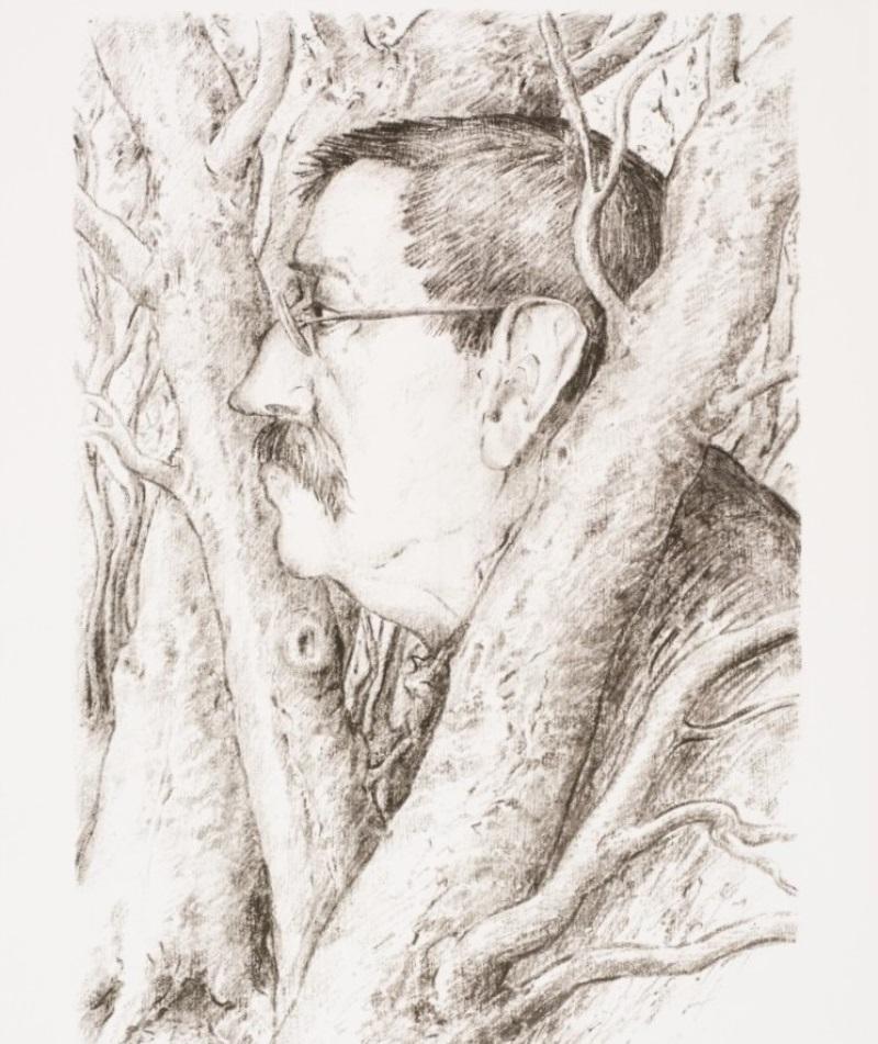 """Günter Grass, """"Samotny w lesie"""" (źródło: materiały prasowe organizatora)"""