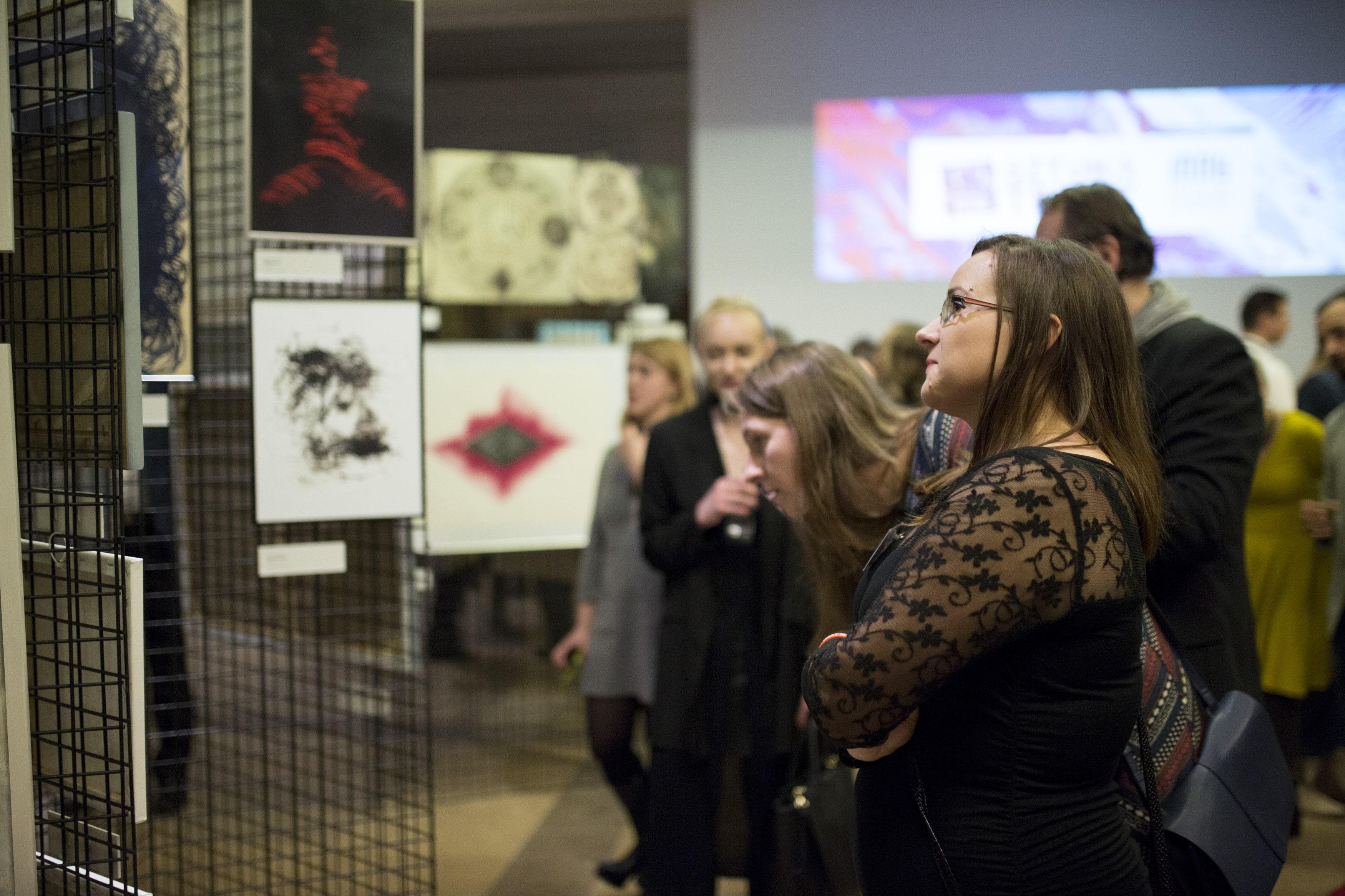 Wernisaż I edycji projektu SZTUKA TERAZ w Muzeum Narodowym w Krakowie, fot. Agnieszka Ożga-Woźnica (źródło: materiały prasowe organizatora)
