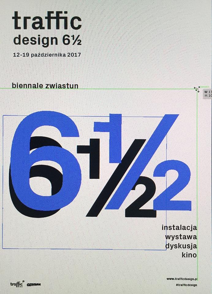 Traffic Design 6,5 – plakat (źródło: materiały prasowe organizatora)