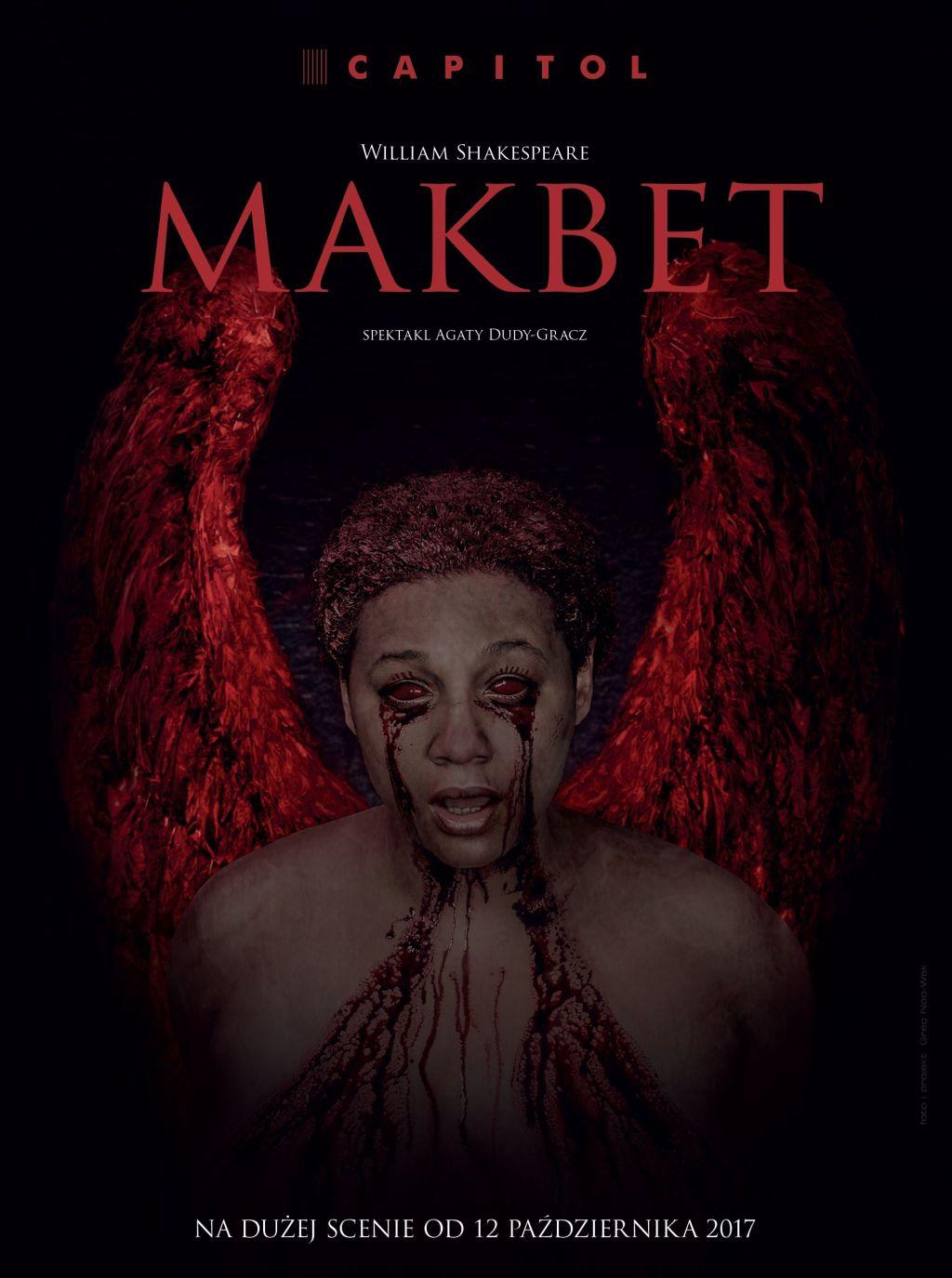 "William Shakespeare, ""Makbet"" (źródło: materiały prasowe teatru)"