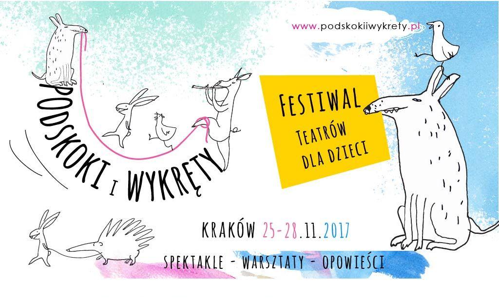 1. Festiwal Teatrów dla Dzieci Podskoki i wykręty (źródło: materiały prasowe organizatora)