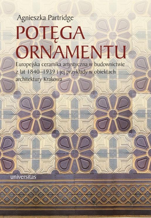 """Agnieszka Partridge """"Potęga ornamentu"""" – okładka (źródło: materiały prasowe)"""