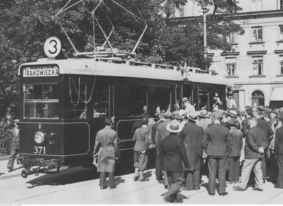 Tramwaj nr 3 typu G, 1933 rok (źródło: materiały prasowe organizatora)
