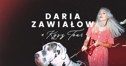 """Daria Zawiałow, """"A Kysz! Tour"""" (źródło: materiały prasowe wytwórni)"""