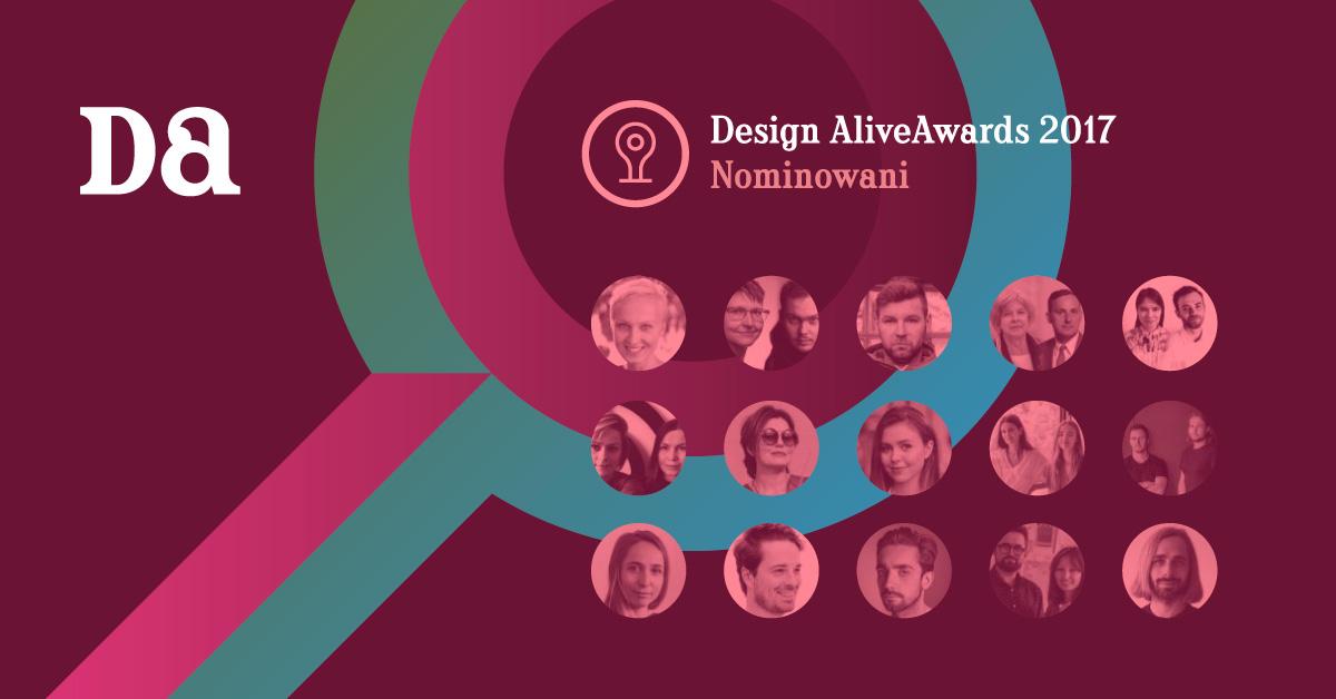 Nominowani do Design Alive Award (źródło: materiały prasowe organizatora)