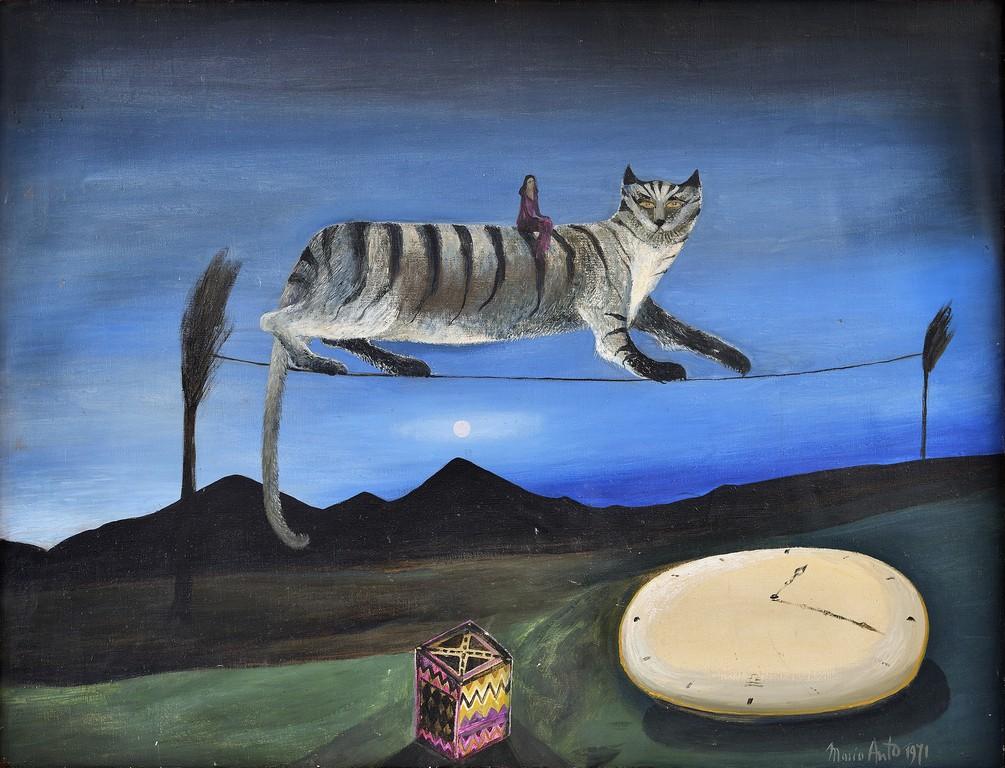 """Maria Anto, """"Kot"""", 1974 (źródło: materiały prasowe)"""