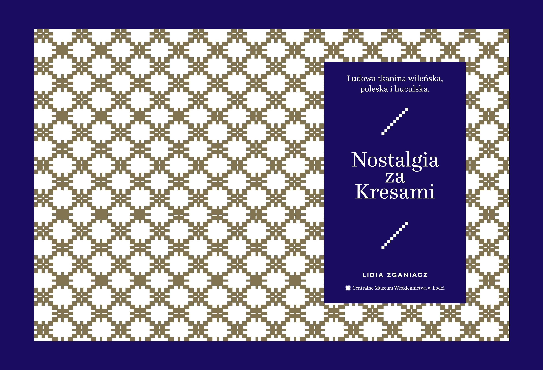 """""""Nostalgia za Kresami"""" – okładka książki (źródło: materiały prasowe organizatora)"""