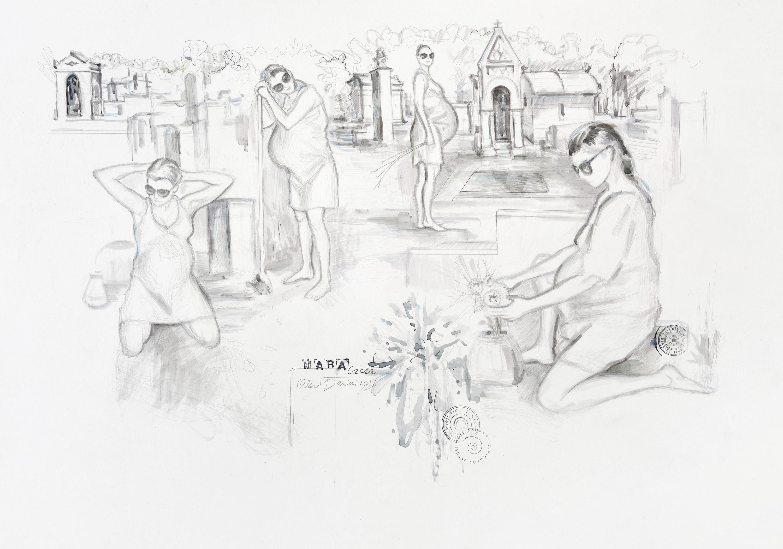 """Oskar Dawicki, """"Mara (czcza)"""", 2017, dzięki uprzejmości galerii Raster, Warszawa (źródło: materiały prasowe organizatora)"""