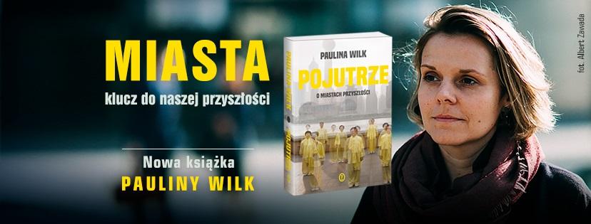 """Paulina Wilk i jej książka """"Pojutrze"""", fot. Albert Zawada (źródło: materiały prasowe)"""