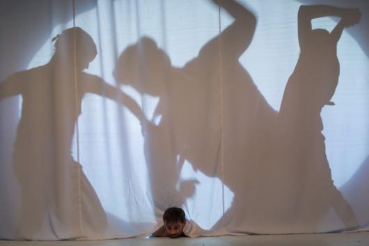 """""""Śmierć pięknych saren"""",fot.Andrzej Wencel (źródło:materiały prasowe teatru)"""