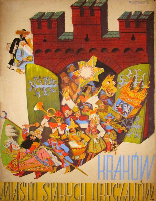 Projekt plakatu Witolda Chomicza ze zbiorów Ziyada Raoofa. © Ziyad Raoof (źródło: materiały prasowe organizatora)