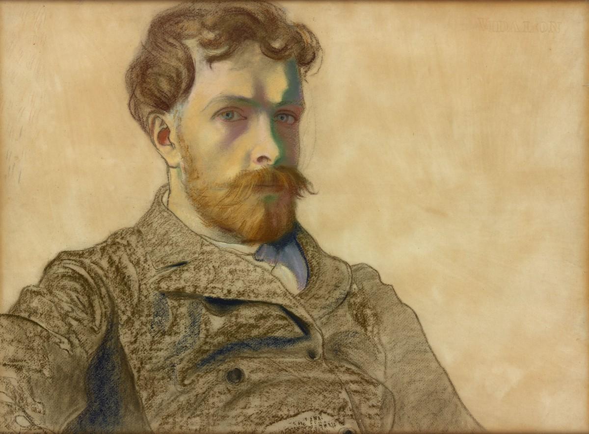 """Stanisław Wyspiański, """"Autoportret"""", 1903 (źródło: materiały prasowe organizatora)"""