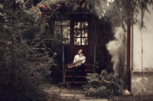 """""""Szymon Nidzworski Project feat. Andrzej Seweryn – Behind Your Eyelids"""" (źródło: materiały prasowe)"""
