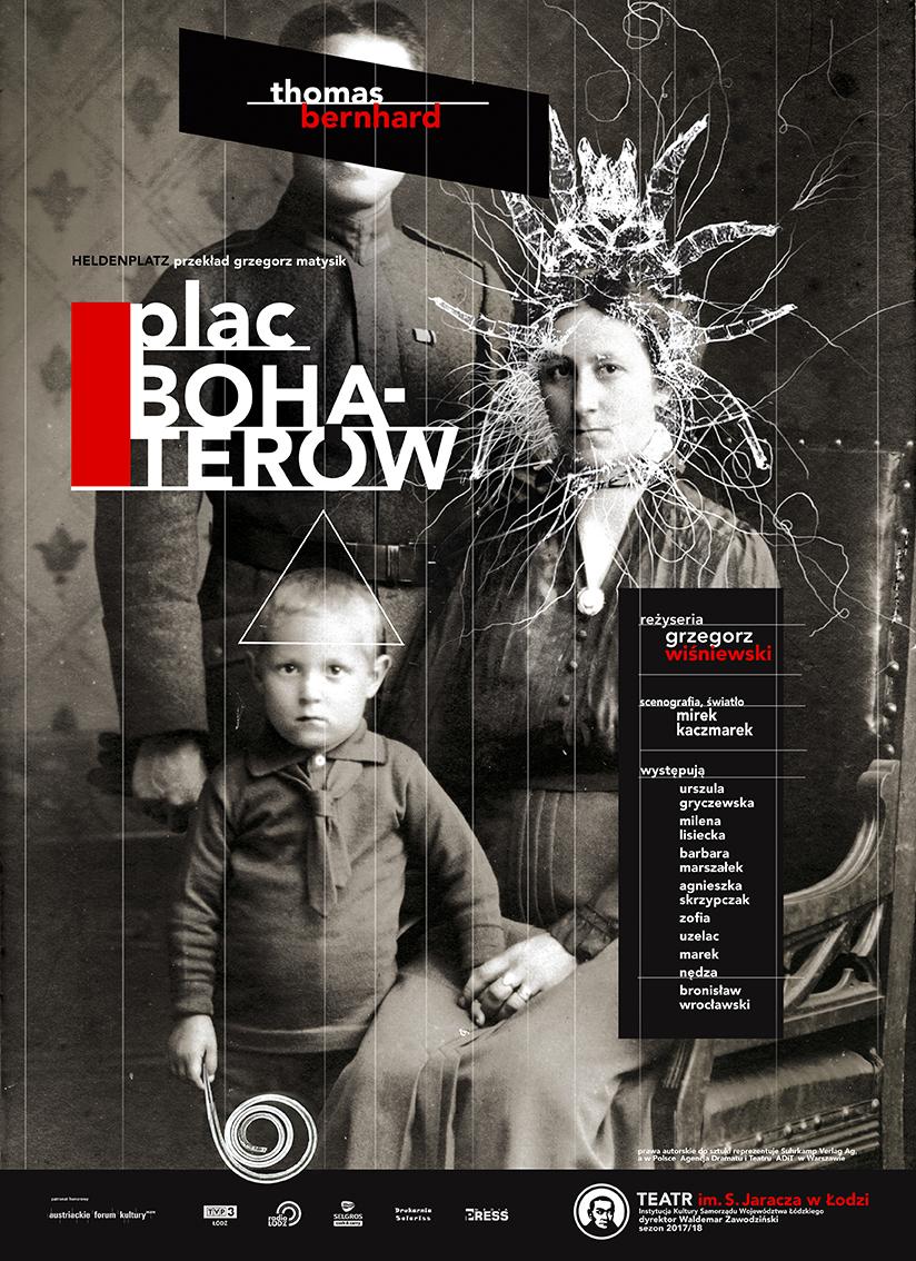 """Thomas Bernhard, """"Plac Bohaterów"""", reż. Grzegorz Wiśniewski (źródło: materiały prasowe teatru)"""