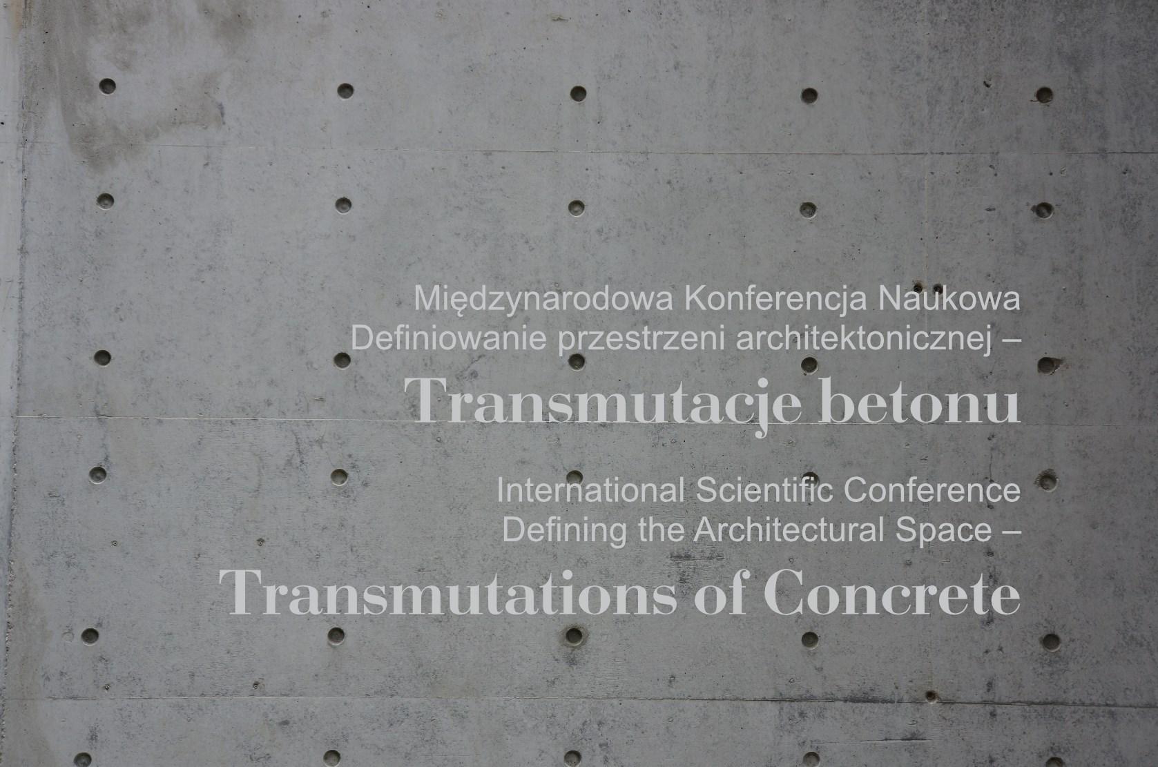 Konferencja z betonem w tle (źródło: materiały prasowe)