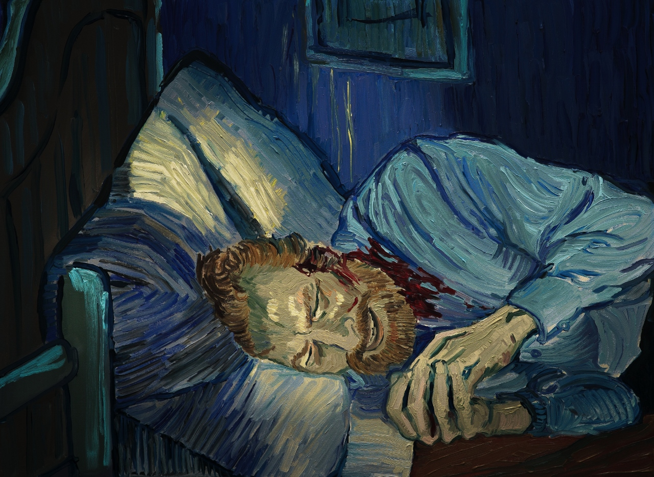 """Kadr z filmu """"Twój Vincent"""" (źródło: materiały prasowe)"""
